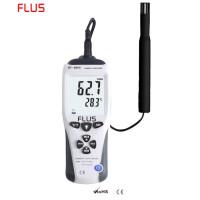 Профессиональный термогигрометр Flus ET-951W (0-100%; от -35..+100°С) с выносным датчиком, DEW, WB