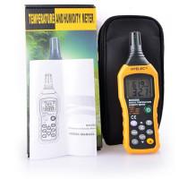 Профессиональный термогигрометр Hyelec MS6508 (0 - 100%; -20°C ... + 60°C), точка росы DEW, WB