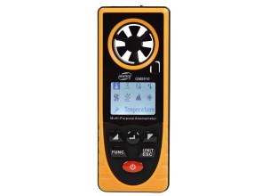Многофункциональный анемометр Benetech GM8910: термометр, барометр, альтиметр, люксметр, гигрометр, точка росы