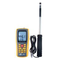 Термоанемометр Benetech GM8903 (0.030-30 м/с; 0-45ºC; 0-999900 м3/мин), USB, Память 350