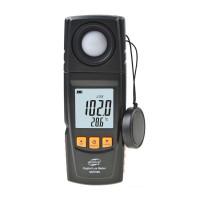 Люксметр Benetech GM1020 (0-200 000 Lx) c USB-интерфейсом и поворачивающимся фотодатчиком. В Кейсе.