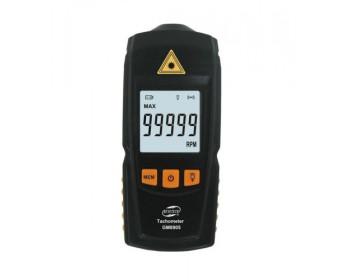 Бесконтактный лазерный тахометр BENETECH GM8905 (50-500 мм) (2.5-99999RPM) с запоминанием MAX, MIN, LAST, AVG - 800742942 - Фото - 1