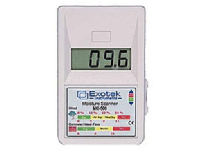 Бесконтактный влагомер (СВЧ) древесины и стройматериалов Exotek MC-500