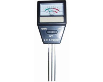 Измеритель кислотности и плодородия грунта 2 в 1 ETP-307 (SR7032 2in1)