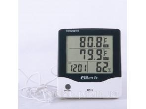 Цифровой термогигрометр Elitech BТ-3 (Великобритания) (0-50 С; 20%…99%) с термопарой 1.5 м (-50...+70°C)