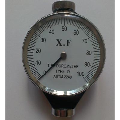 Дюрометр ( твердомер ) Шора D с одной стрелкой ASTM 2240-D, шкала 0-100 НD