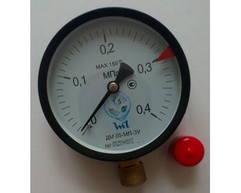 Манометр ДМ 05-МП-3У 0,4 МПа ТУ.У 33.2 - 14307481-031:2005