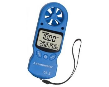 Анемометр-термогигрометр 3 в 1 SR5803 ( 2178 ) (0,3-30 м/с) (0%-99%) (-10 to 50ºC)