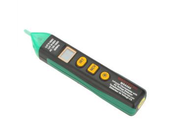 Пирометр Mastech MS6580 (-20...300°С; DS:4:1; EMS:0,95) с функцией бесконтактного детектора напряжения