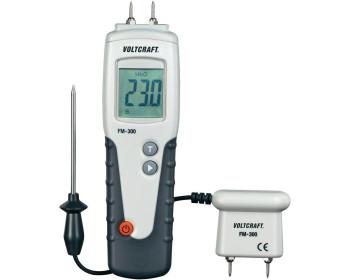 Влагомер древесины Voltcraft FM-300 (6-99%; -35...+80°C) с выносным датчиком температуры и влажности. Германия - 800743092 - Фото - 1