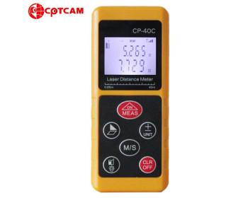 Лазерный дальномер ( лазерная рулетка ) CPTCAM CP-40С (от 0,03 до 40 м) проводит измерения V, S
