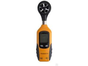 Анемометр HT-81 (SR5881 Mini) (0,95-25.0 м/с; -10 ... +50 ℃) в пыле и влагозащищённом прорезиненном корпусе