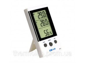 термогигрометр Elitech DT-3 (Великобритания) ( -30°C... +50°C; 20%…99%) с термопарой 1.7 м (-50...+70°C)