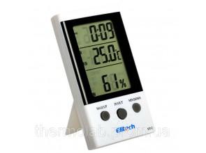 термогигрометр Elitech DT-2 (Великобритания) ( -30°C... +50°C; 20%…99%) с термопарой 2 м (-50...+70°C)