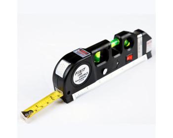 Лазерный уровень нивелир Fixit Laser Level Pro PRO 3 в 1 (лазерный, жидкостный уровень и рулетка) - 800743391 - Фото - 1