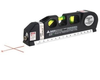 Лазерный уровень нивелир Fixit Laser Level Pro 2: лазерный уровень, жидкостный уровень