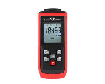 Лазерный бесконтактный тахометр Tasi HS1142 (TA8141) (от 2,5 до 99999 об/мин;50 - 800мм) память на 50 значений