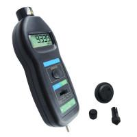 Лазерный тахометр Walcom DT-2236C (2-99999 об/мин) с насадками для измерения линейной скорости, 800 мм