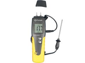 Влагомер древесины Exotek MC-410 (СEM DT-129) (6-99%; -35..+80°C) с выносным датчиком температуры и влажности