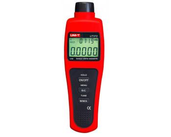 Бесконтактный лазерный тахометр UNI-T UT372 (от 10 до 99999 об./мин) с USB-интерфейсом - 800743533 - Фото - 1
