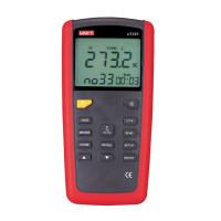 Двухканальный термометр UNI-T UT325 (-250~1767℃) с совместимостью с термопарами К,J,T,E,R,S,N типов, ПО