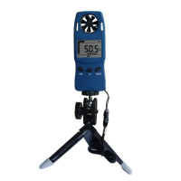 Анемометр Misol WS4000 (0,3-30 м/с; -29,9 С до +59 С) со шкалой Бофорта и треногой