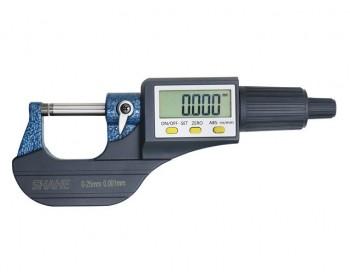 Микрометр цифровой Shahe (5205-25) 0-25/0,001 мм