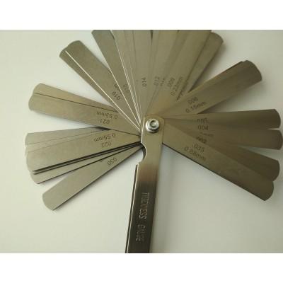 Набор щупов для измерения зазоров Jinghua 100B 30 (0,04-0,88)