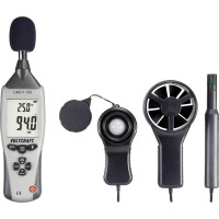 VOLTCRAFT UM5 / 1 100 (5 в 1) : шумомер, анемометр, термометр, люксметр и гигрометр. Германия