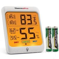 Термогигрометр ThermoPro TP-53 (-20°C ... 70°C; 10%...99%) с подсветкой и магнитом
