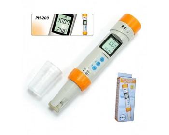 Профессиональный влагозащищённный рН-метр PH-200 HM Digital (США)