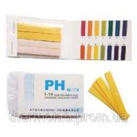 Лакмусовая бумага ( pH-тест ) 1-14рН 80 полосок