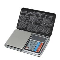 Весы цифровые мультифункциональные 6 в 1 Digital Pocket Scale Precision DP-01 (0,1/1000 г) (Весы+калькулятор)