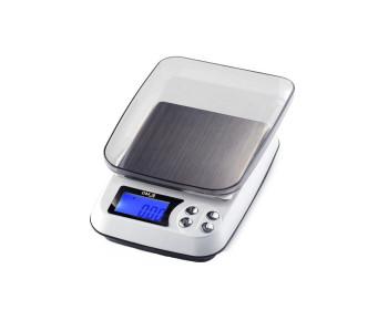 Весы цифровые DM.3 (±0,1-2000 г) с функцией счета, съемной крышкой и возможностью работать от сети 220V - 901018671 - Фото - 1