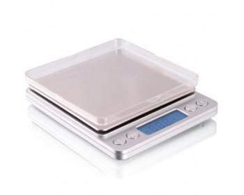 Весы цифровые DTS-500 ( 500г/0,01г ) с функцией счета и съемной крышкой - 901018681 - Фото - 1