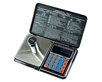 Весы цифровые мультифункциональные 6 в 1 Digital Pocket Scale Precision DP-01 (0,01/500 г) (Весы+калькулятор) - 901018683 - Фото - 1