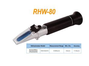 Рефрактометр RHW - 80ATC(REF501/511,HT511ATC), для вина, коньяка. Со шкалой для алкоголя (0-80%w/w)