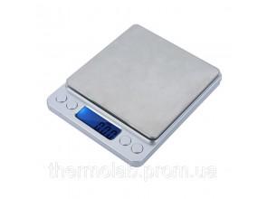Весы цифровые DTS-2000 ( 2000г/0,1г ) с функцией счета и съемной крышкой