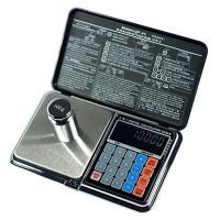 Весы цифровые мультифункциональные 6 в 1 Digital Pocket Scale Precision DP-01 (0,01/100 г) (Весы+калькулятор)
