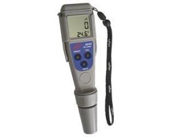 Влагозащищённый кондуктометр ADWA AD33 (EC: от 0 до 1999 μS/cm; T: от 0.0 до 60.0 °C) АТС, Венгрия - 901018952 - Фото - 1