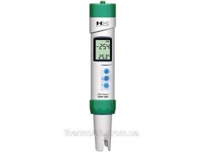 Профессиональный влагостойкий ОВП метр HM Digital ORP-200 (± 1000 мВ) со сменным электродом, термометром, АТС