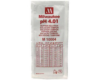 Калибровочный раствор M10004B РН 4.01 Milwaukee (20 мл),США