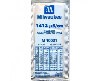 Калибровочный раствор M10031B  1413 µS/cm (мкСм) для кондуктометров  MILWAUKEE 20мл,США