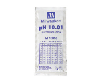 Калибровочный раствор M10010B pH 10.01  MILWAUKEE 20мл,США - 901019178 - Фото - 1