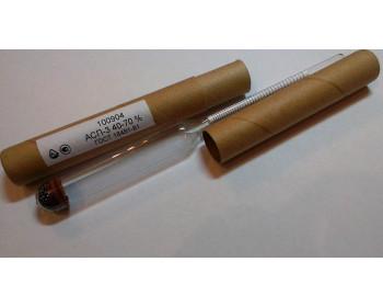 Ареометр для спирта АСП-3 40-70 ГОСТ 18481-81