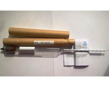 Ареометры для сахара АСТ-2 20-30% с термометром ГОСТ 18481-81