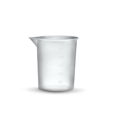 Стакан пластиковый 100 мл (полипропилен) градуированый