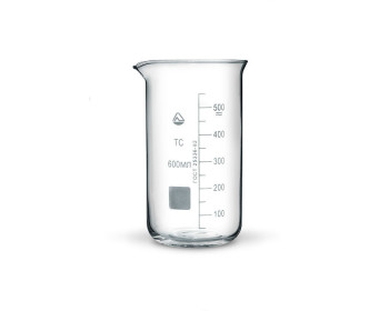 Cтакан  мерный В-1-600 мл ТС(высокий с носиком) со шкалой V-600 мл ГОСТ 25336-82 из термически стойкого стекла - 991635767 - Фото - 1