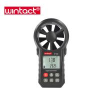 Анемометр Wintact WT87B (0,20-30,00 м/с; 99990 м3/м) с USB-интерфейсом, гигрометром и термометром
