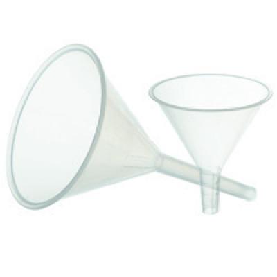 Воронка лабораторная пластиковая (диаметр - 120мм) полипропилен